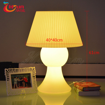 best selling 2017 color changing wireless led table lamp for kids and battery led table lamp
