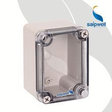 CE Transparent/Clear Lid/Cover Junction Box IP66 Plastic Polyester Enclosure