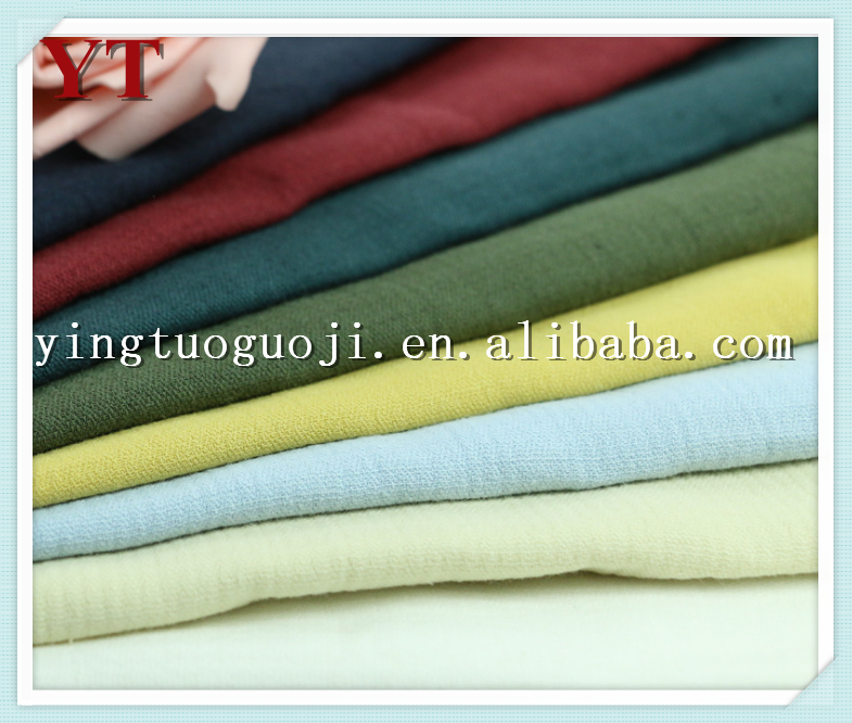 weaving plain dyed100% linenfabric for shoes