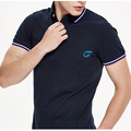 Wholesale couple polo shirt knit collars for polo shirts