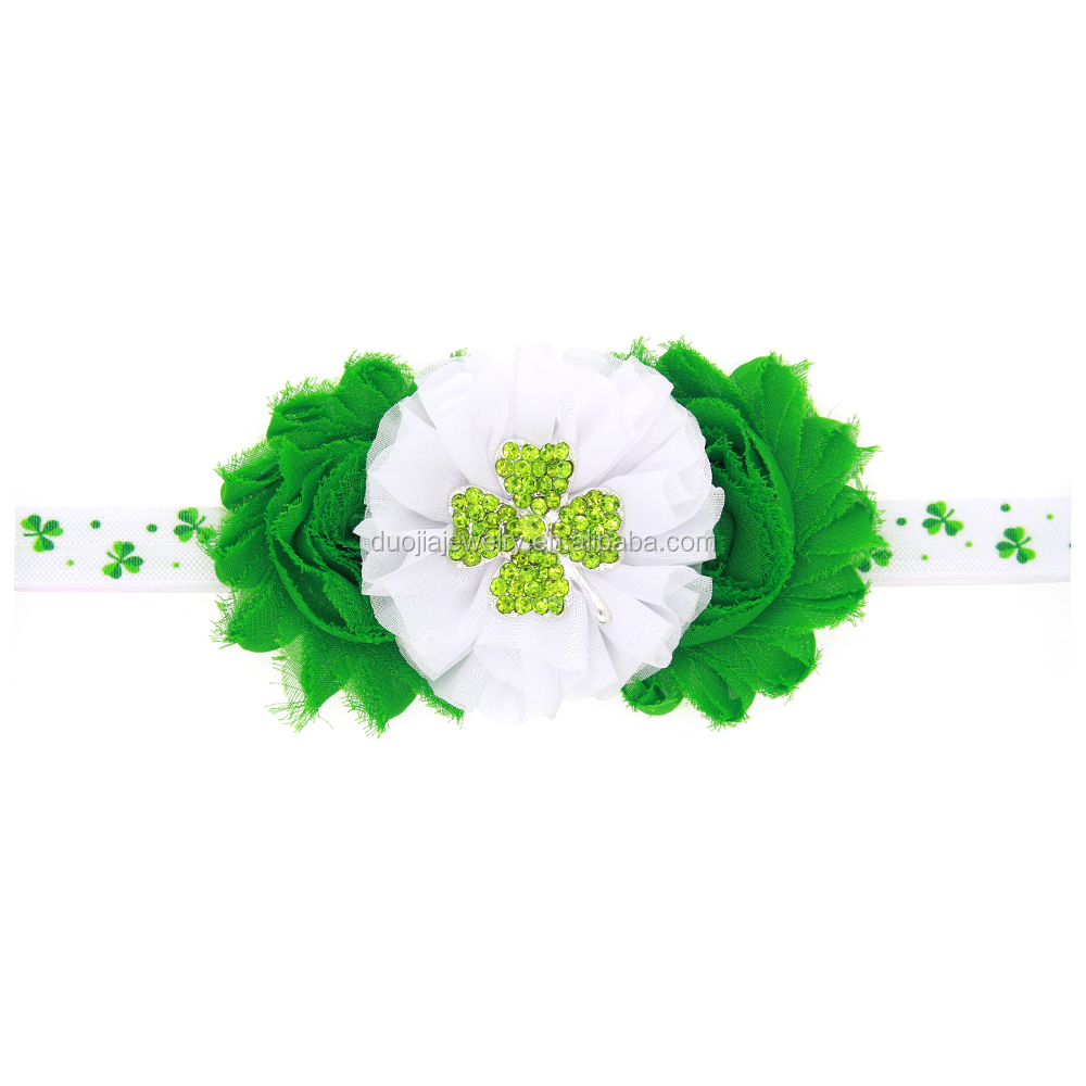 TOP SALE unique design custom Saint Patrick's Day headbands babys hairbands
