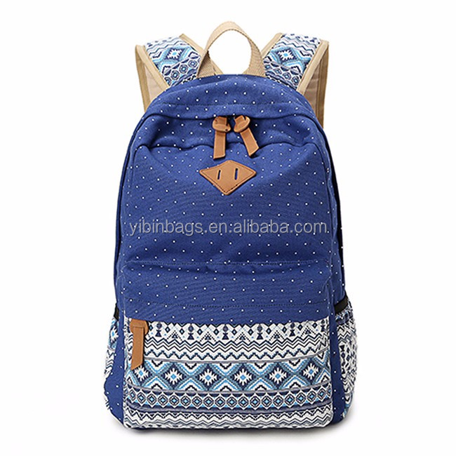 OEM promotional latest design trendy school bags