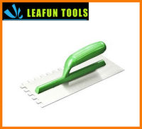 ABS Handle Plastic Polishing Plastering Trowel Cement Finishing Trowel Finish Plaster