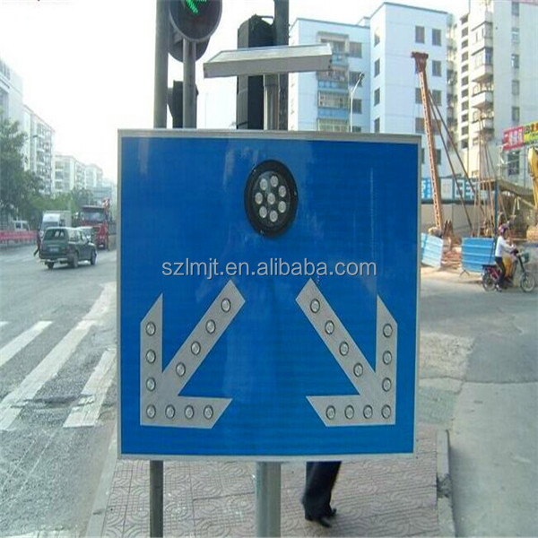 triangle pedestrian crossing sign for traffic safety