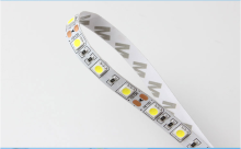 High Quality 10mm DC12V 60leds/m White Led Strip Tape Ribbon SMD5050,IP65 Waterproof