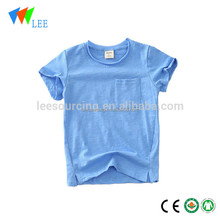 baby plain T shirt organic cotton children clothes