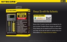 High Quality Nitecore I2 Charger Intellichage battery charger Ni-MH/Ni-Cd/aa aaa battery charger