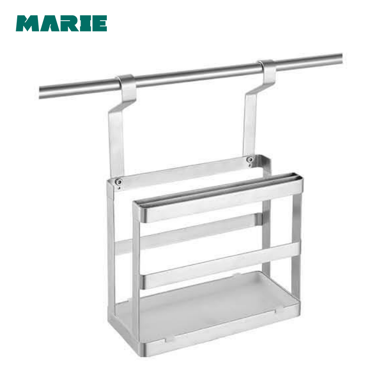 stainless steel kitchen baskets for chopping board holder rack
