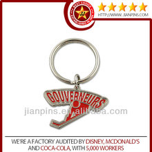 Top selling high quality promotional metal key chain
