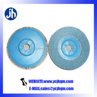 100mm zirconia abrasive flap discs high quality for metal/wood/stone/glass/furniture/stainless steel