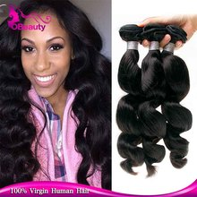 DHL shipping one piece MOQ use 1-2 years bulgarian remy loose wave hair extension