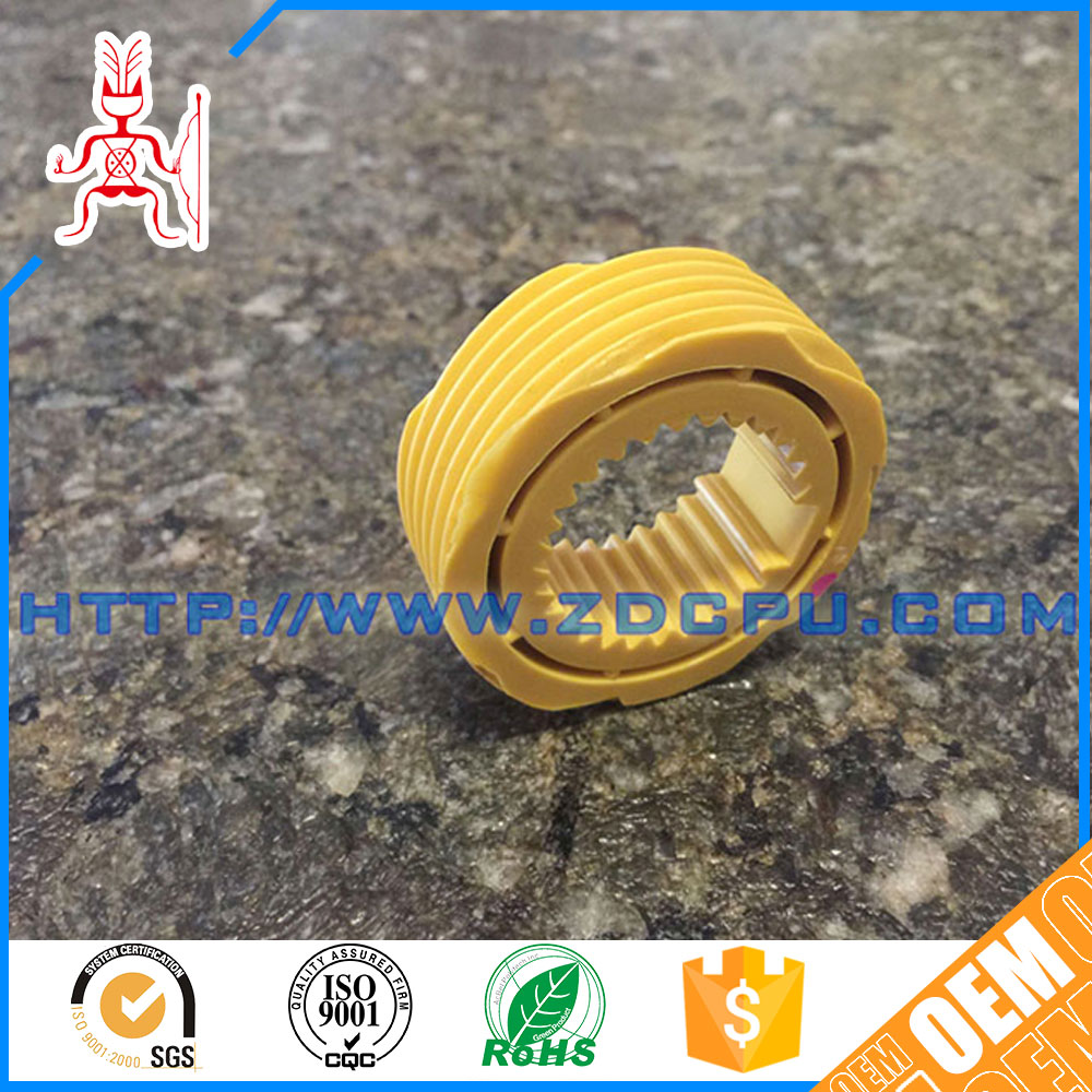 Best price practical alkali resistant anti wear PTFE spur gear