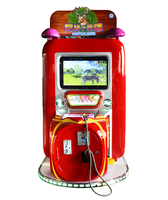 Small hunting hero kids coin operated indoor amusement video game machine