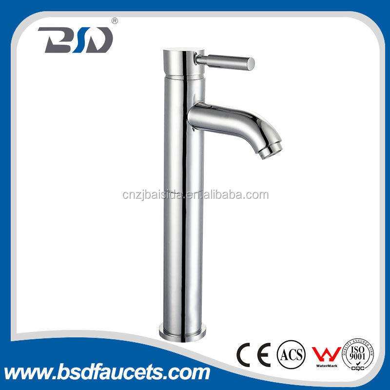 Online shopping 3-5 years guarantee ACS CE watermark certificate Deck-mounted MS D35mm ceramic cartridge Full Bras Basin Faucet