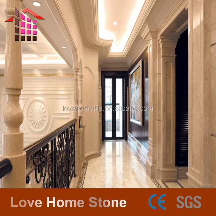 Hot Sell Cut To Size Beige Italian Marble,Wall Floor Marble Tile