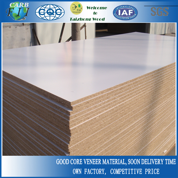 White Laminated Particle Board ~ Mm white melamine laminated chipboard buy