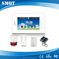 wireless apartment alarm system with 7inch touch screen EB-839