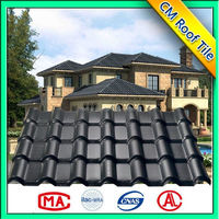 2016 New Design Fire Resistance Spanish Synthetic Resin Roof Tile