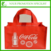 promotional cheap shopping bag Non-woven wine/tote bag