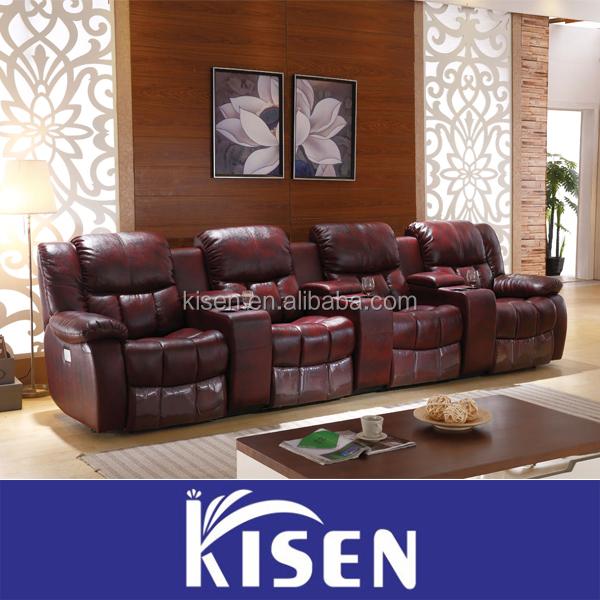 Home Theater Furniture Manual Recliner Cinema Sofa Cinema