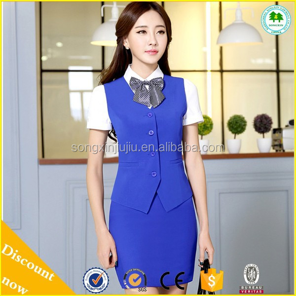 Best seller uniform hotel front office,hotel housekeeping uniform