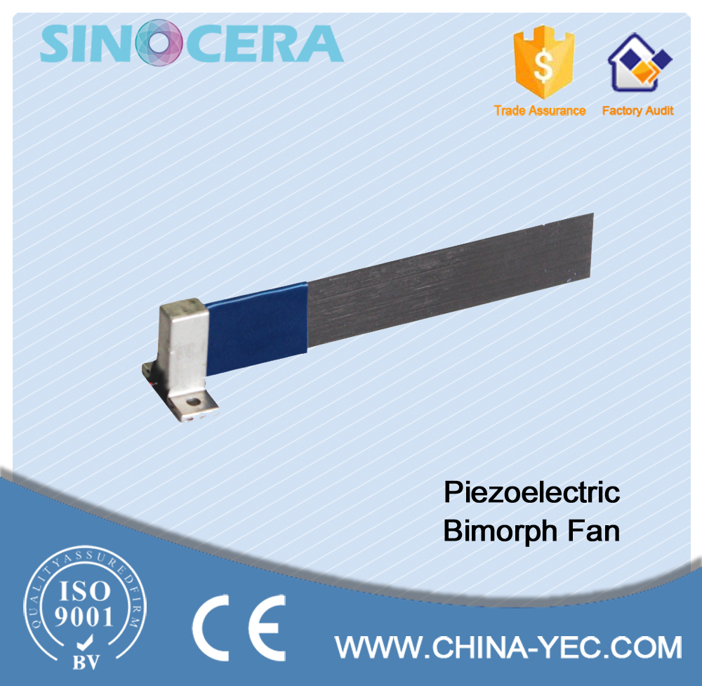 Customize piezoelectric fan for cooling electronic devices
