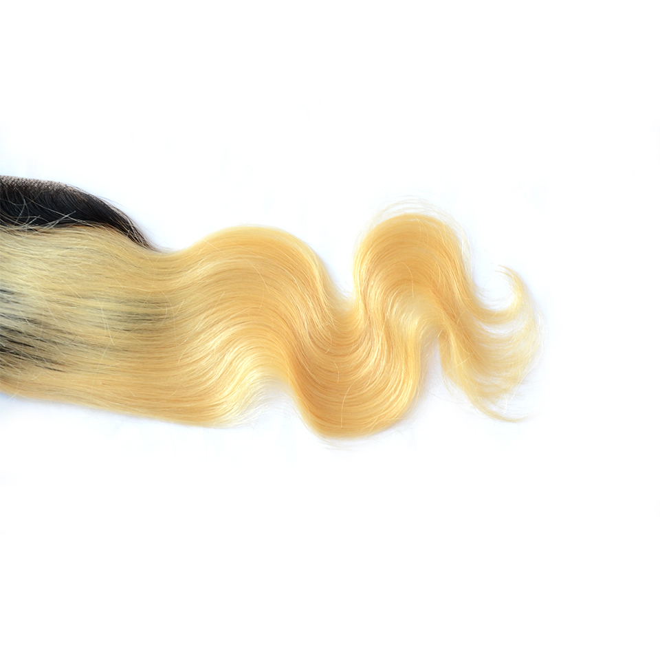 straight ombre hair weave ombre silk base closure