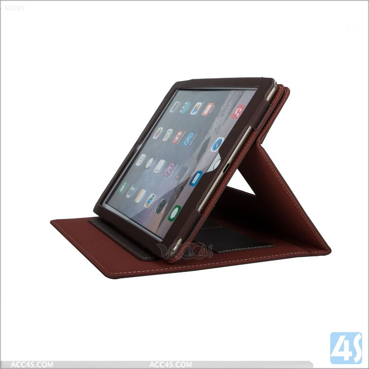 Detachable PU leather case for Ipad mini 4, rotating wallet leather case for Ipad mini 4