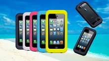 Waterproof Diving Shockproof Dirt Snow Proof Case Cover for iPhone 5S 5G 5 4 4S