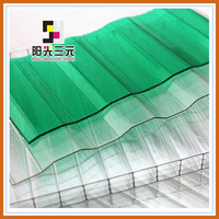 Hollow Sun Panel ,Multiwall Hollow Polycarbonate Sheet,Green House