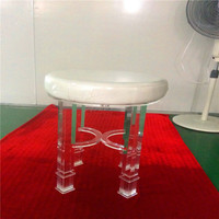 acrylic antique assistant apple stool