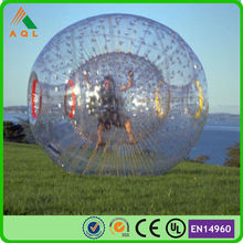 Certificated strong 1.0mm PVC tarpaulin cheap zorb balls for sale