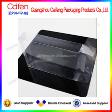 new design pvc hair extension packaging box
