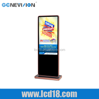 47 inch LCD Advertising Displayer Sporting good stores Machine TouchScreen Function All in one computer