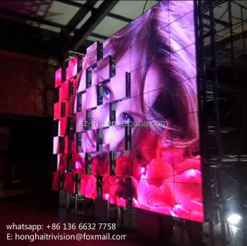 moving event stage backdrop bumping led backdrop stage design