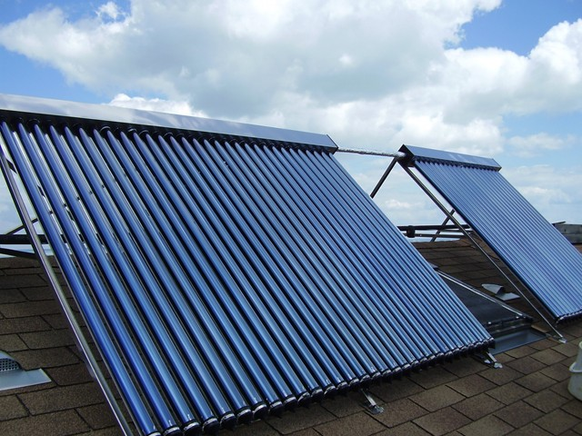 solar heat collector 58*1800mm