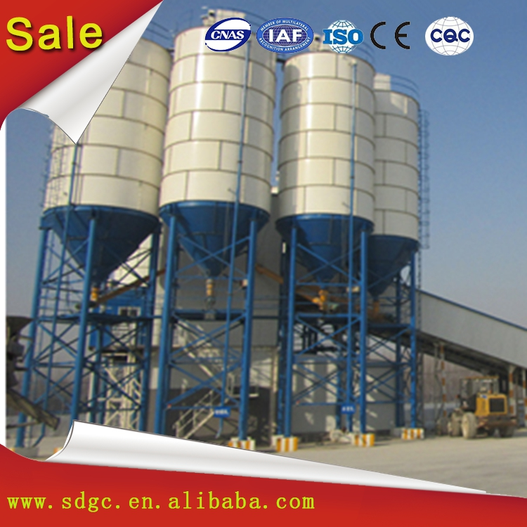Big 100ton sheet cement silo baghouse in sale