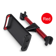 Amazon Universal flexible car back seat headrest 3-10.5 inch tablet holder stand mount for ipad iphone