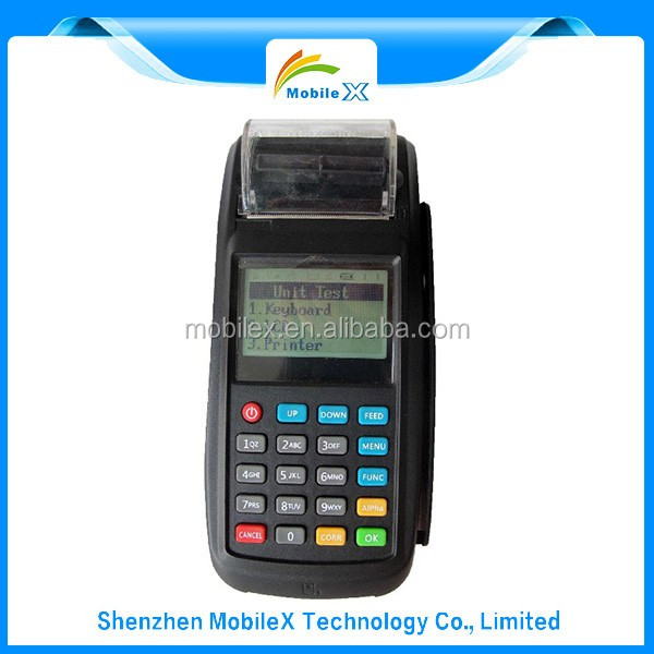 Factory Price dual touch screen mobile pos for meal-order