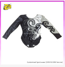 Top sale rhinestone gymnastic leotards professional performance adult gymnastic leotards