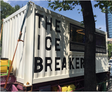 Mobile Ice Cream Store prefabricated Modular container house