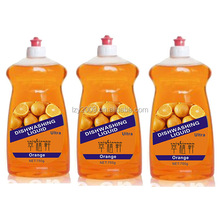 Orange perfume dishwashing liquid much better than soap