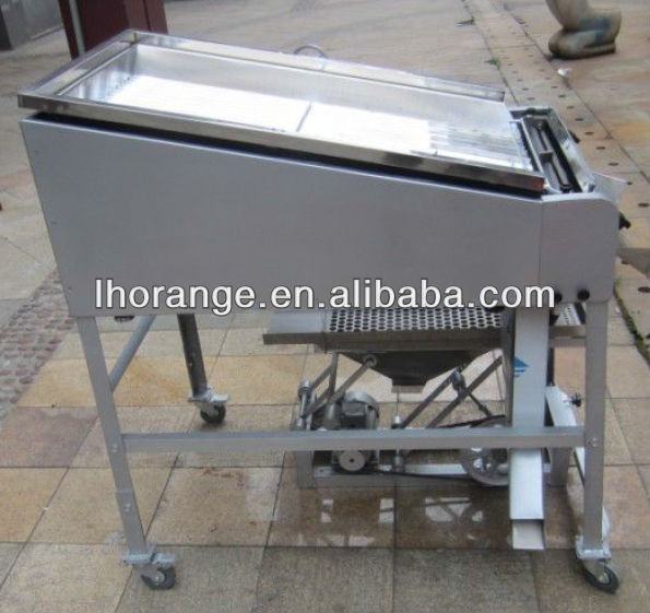 High Efficiency pigeon pea sheller machine/ green soybean,edamame,pigeon peas shelling machine