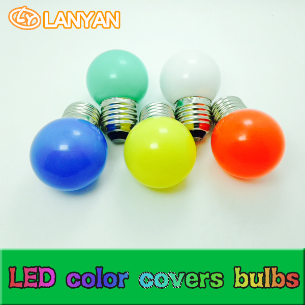 Hot New Products Colorful Bulb Christmas Decoration E14/e27 0.6w Small Size Led Bulb Led Light Mini Led Bulb