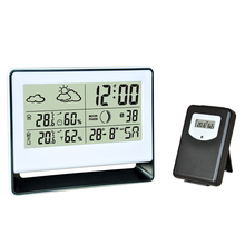 Amazon hottest sell Digital 433mhz wireless weather station with thermo hygrometer clock