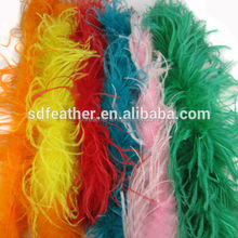 decorative colorful fluffy ostrich feather boas for sale cheap