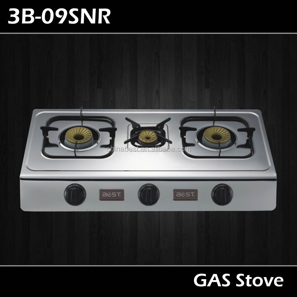 Chinabest table top gas cooker 3B-09SNR
