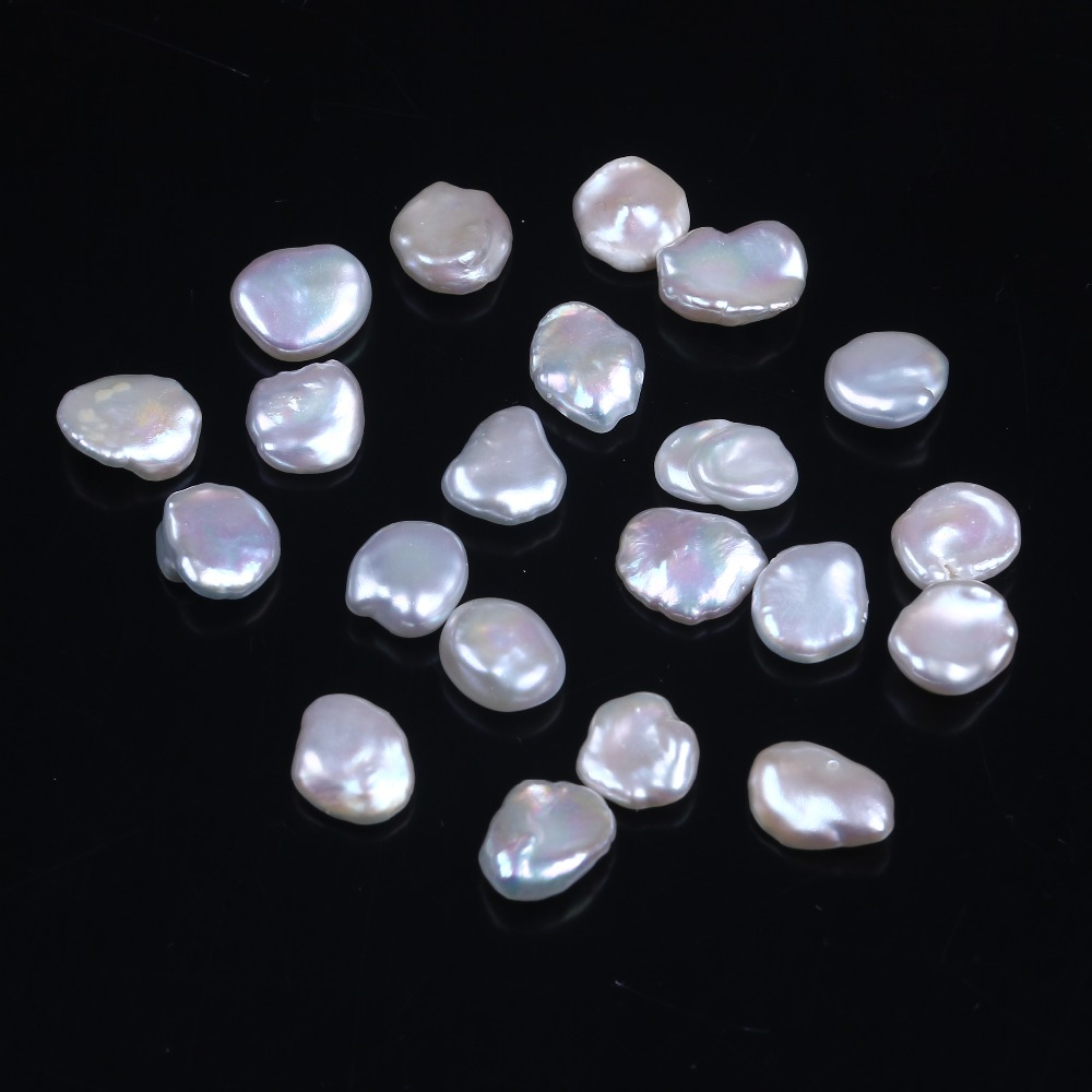 10mm Fresh Water Pearl Keshi Loose beads