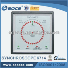 AC Phase Synchroscope Meter 6714 + For Generator