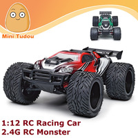 Minitudou Wholesale High Speed 2.4G RC Monster 1:12 Electric Desert Traxxas Slash Racing Car